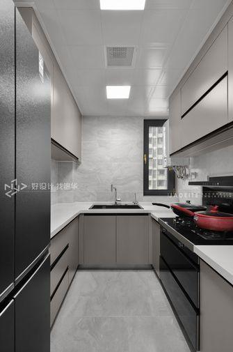 豪华型120平米三室两厅现代简约风格厨房图