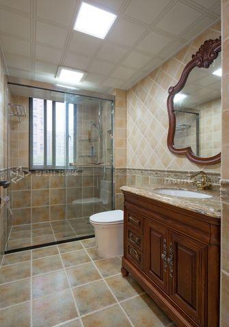 120平米三室两厅美式风格卫生间效果图