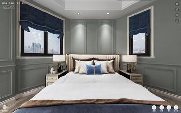 豪华型140平米三室一厅美式风格卧室装修图片大全