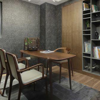110平米三现代简约风格书房图