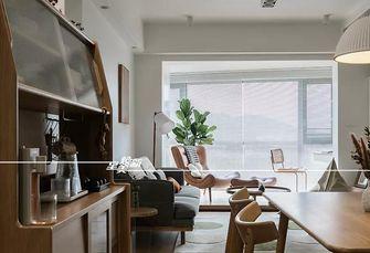 富裕型90平米三室两厅北欧风格餐厅装修效果图