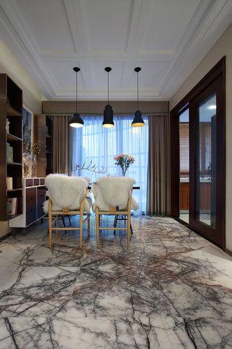 20万以上三室一厅北欧风格餐厅效果图