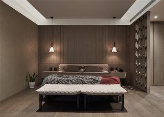 富裕型140平米三室两厅混搭风格卧室图片