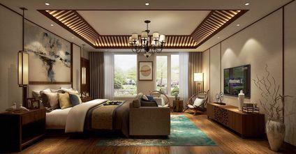 豪华型140平米别墅东南亚风格卧室装修案例