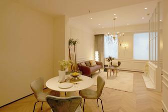 50平米一室一厅法式风格餐厅装修图片大全