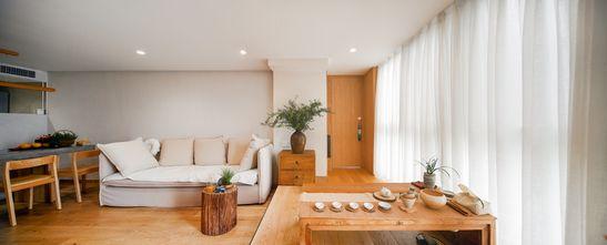 80平米复式日式风格客厅装修效果图
