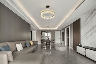 15-20万90平米混搭风格客厅设计图