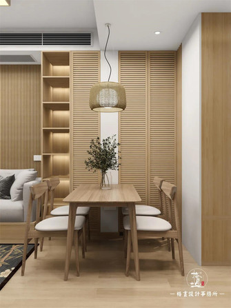 3-5万50平米日式风格餐厅欣赏图