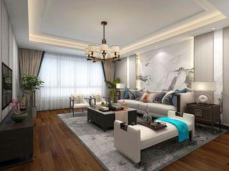 20万以上140平米四室一厅中式风格客厅图