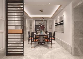 140平米四室三厅欧式风格餐厅装修案例