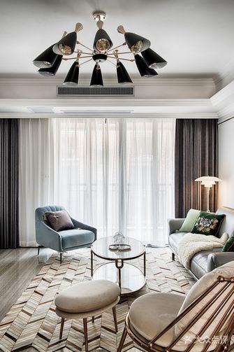 15-20万120平米三室一厅美式风格客厅效果图