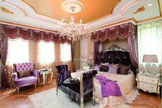 110平米三法式风格卧室图片大全