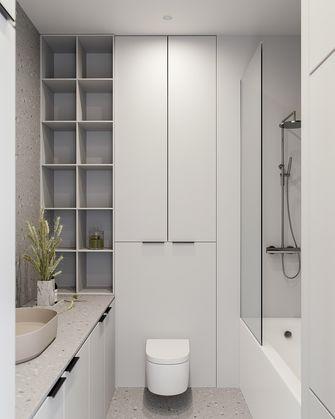 经济型80平米现代简约风格卫生间装修案例
