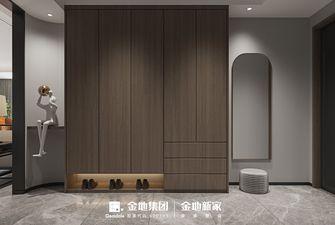 140平米三室两厅中式风格玄关图片