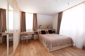 20万以上140平米别墅北欧风格卧室图片