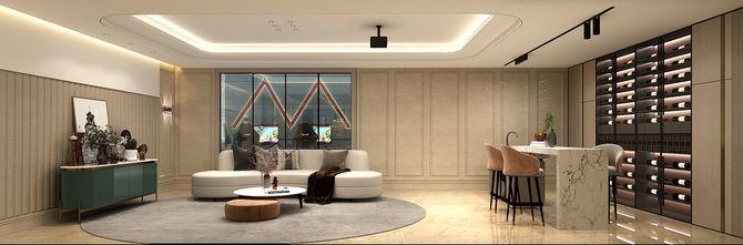 豪华型140平米别墅欧式风格储藏室效果图