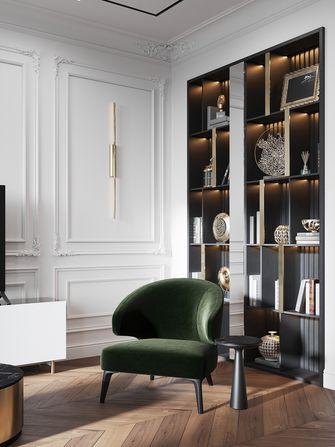 豪华型100平米欧式风格书房图片