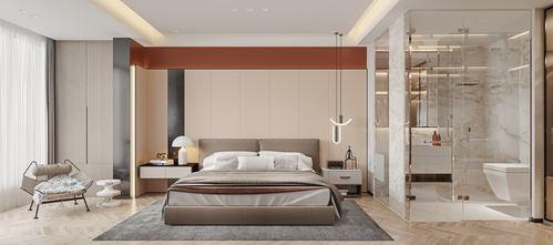 3万以下140平米四室两厅轻奢风格卧室图片