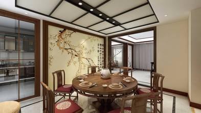 20万以上140平米复式中式风格餐厅欣赏图