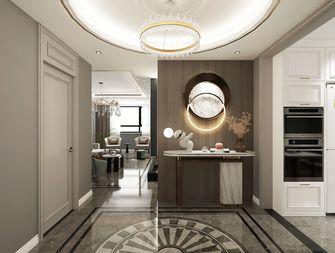 经济型140平米三室两厅轻奢风格玄关图片