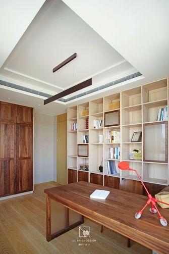 100平米田园风格书房效果图