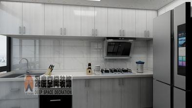 经济型90平米三室两厅现代简约风格厨房装修效果图