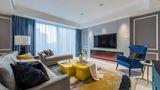20万以上140平米复式混搭风格客厅装修效果图