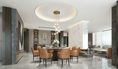 豪华型140平米别墅轻奢风格餐厅欣赏图