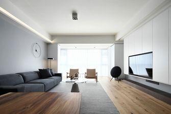 富裕型140平米四室三厅混搭风格客厅图