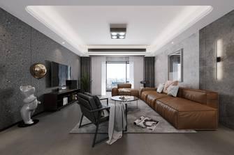 20万以上140平米四室两厅工业风风格客厅图