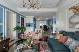 富裕型130平米田园风格客厅设计图