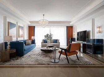 富裕型90平米美式风格客厅装修图片大全