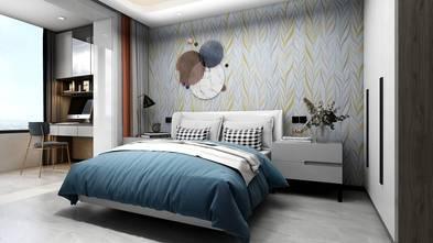 10-15万140平米四室两厅现代简约风格青少年房设计图