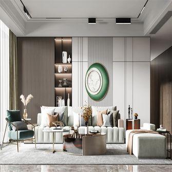 3-5万60平米三室一厅混搭风格客厅装修图片大全