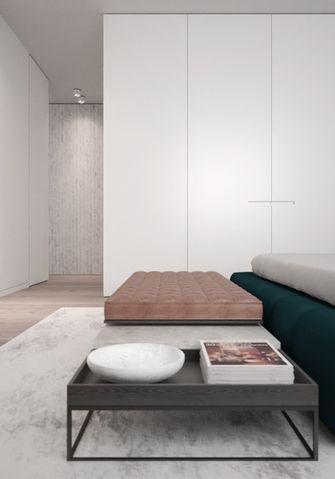 80平米公寓现代简约风格卧室图片大全