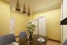 80平米公寓地中海风格餐厅装修案例