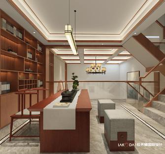3万以下140平米别墅中式风格书房设计图