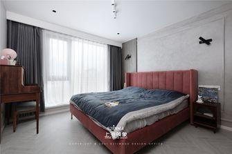 富裕型130平米三室两厅现代简约风格卧室装修图片大全