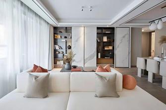 富裕型120平米四室一厅轻奢风格客厅效果图