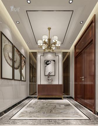 20万以上140平米别墅中式风格玄关设计图