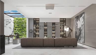 豪华型140平米别墅现代简约风格影音室图片