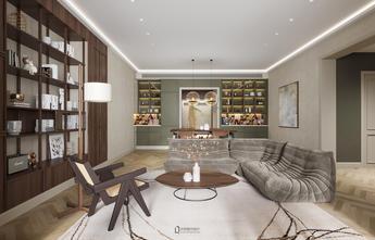 140平米三室三厅法式风格客厅装修案例