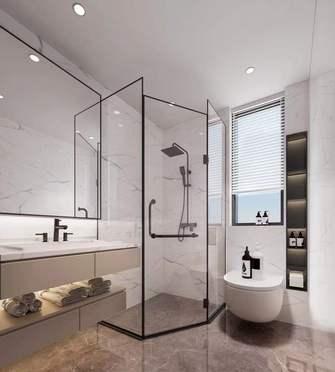 富裕型80平米中式风格卫生间图片大全