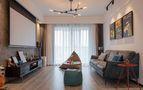 富裕型100平米三混搭风格客厅装修图片大全