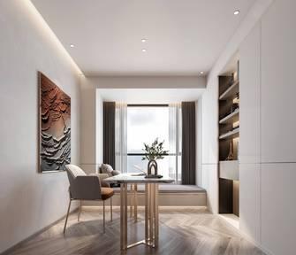 豪华型130平米三室两厅现代简约风格书房效果图
