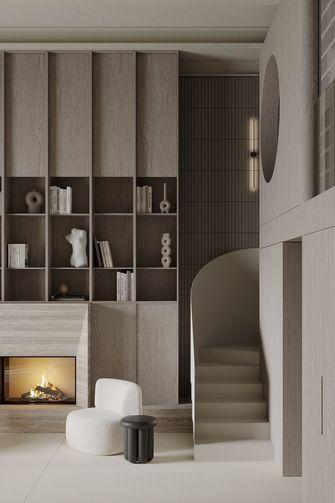 豪华型140平米别墅日式风格楼梯间装修案例