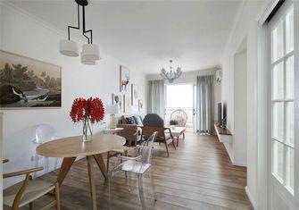富裕型一室一厅北欧风格餐厅设计图