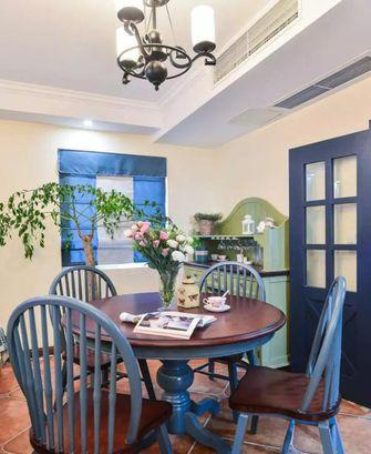 10-15万100平米三室两厅地中海风格餐厅装修图片大全
