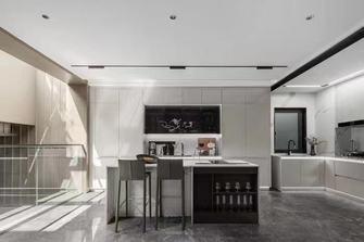 140平米别墅工业风风格餐厅设计图