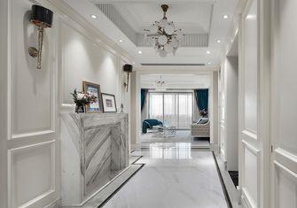 经济型140平米四室一厅美式风格玄关图